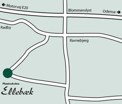 Adresse Planteskolen Ellebæk